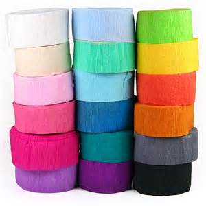 Cake Decorating Rosettes Crepe Paper Streamers Pipii