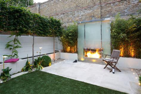Rustic Patios Pictures Small Modern Garden In Kensington Contemporary Garden
