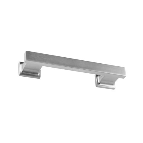 3 1 4 inch center to center cabinet pulls shop sumner street 3 1 2 in center to center satin nickel