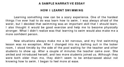 44 free personal narrative essay personal narrative essaydocx
