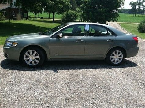 repair anti lock braking 2008 lincoln mkz electronic valve timing sell used 2008 lincoln mkz moss green mileage 50056 new tires excellent condition in