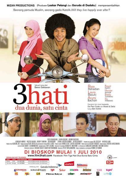 film kabut cinta versi indonesia 3 hati dua dunia satu cinta wikipedia bahasa indonesia