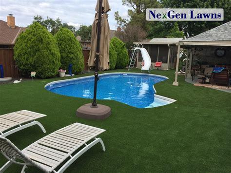 Backyard Pools Guthrie Ok Pool Surroundings Nexgen Lawns