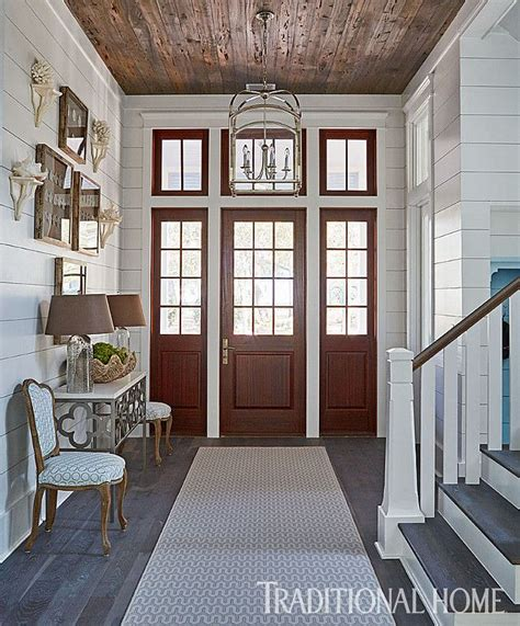 shiplap foyer the foyer features shiplap walls and reclaimed pecky