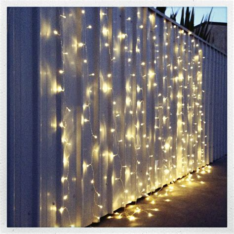 lighted curtains warm white led fairy light curtain 6m x 3m my wedding store
