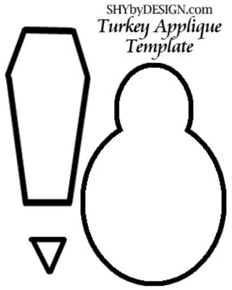 printable turkey cut out template best photos of turkey printable template cut out