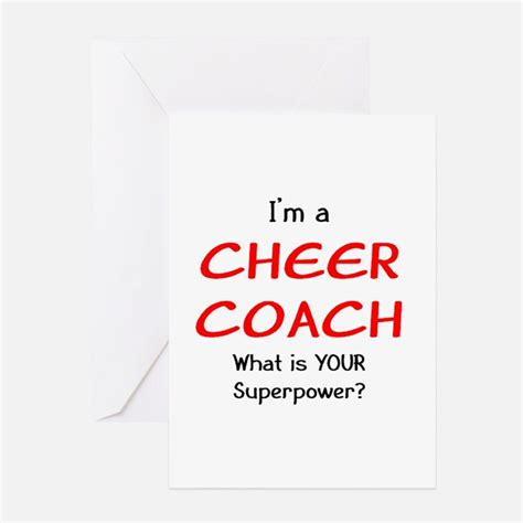 cheer card template cheer coach greeting cards card ideas sayings designs