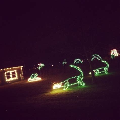 christmas lights at country springs hotel fit in the midwest