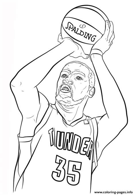 nba coloring pages lebron james kevin durant nba sport coloring pages printable