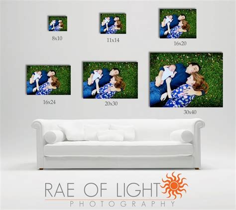 20x30 Picture Frame On Wall by Canvas Sizes My Favorite Is The 20x30 Photography