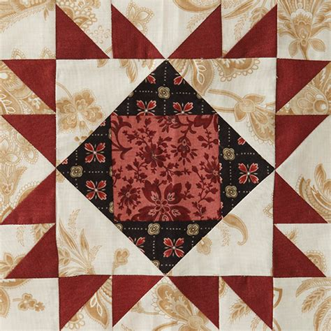 American Patchwork Quilting Patterns - block of the month block 5 allpeoplequilt