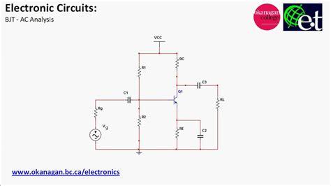 transistor bjt ac bjt introduction to ac analysis