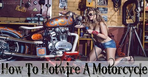 how to hotwire a motorcycle mr vehicle