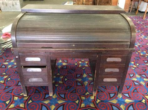 Antique Post Office Desk Antique Late 1800 S Early 1900 S Post Office Style Roll Top