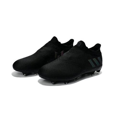 Adidas Messi 16 Pureagility Black adidas messi 16 pureagility fg soccer cleats all black