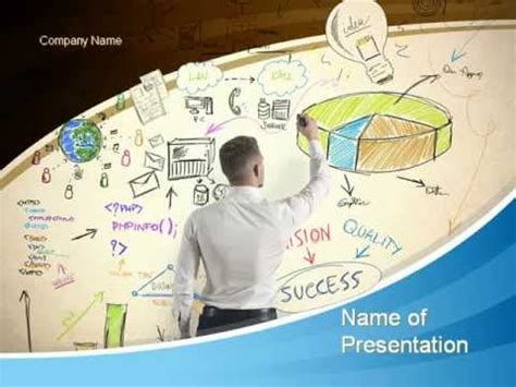 Startup Business Plan Powerpoint Template Youtube Startup Business Plan Ppt Template
