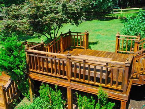 home deck plans decks for every location hgtv