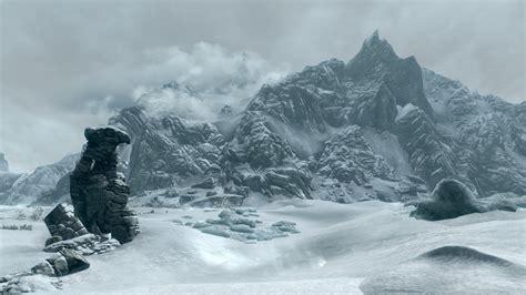 Snowy Gamis the elder scrolls v skyrim hd wallpaper and