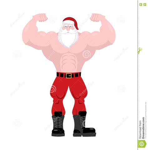 imagenes de santa claus viejo santa claus fitness viejo hombre potente con los m 250 sculos