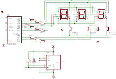 digital temperature sensor circuit diagram lcd led display circuit page 4 digital circuits next gr