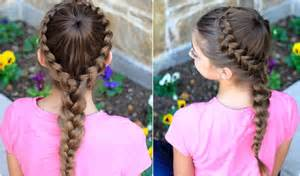Dutch starburst braid cute girls hairstyles youtube
