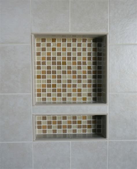 niche in bathroom ez niches usa recess bathroom shower shoo wall niche