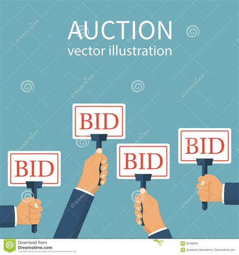 bid auction websites bid stock illustrations 3 393 bid stock illustrations