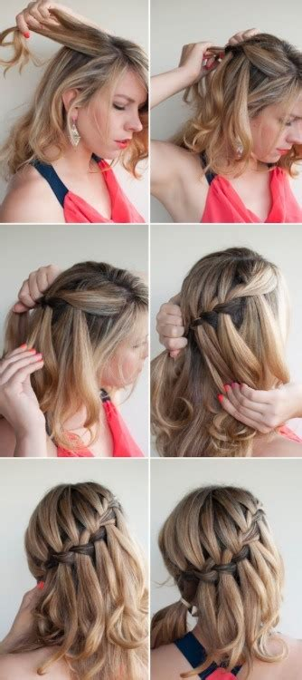 waterfalls cascade braids step by step how to do a waterfall braid in 10 simple steps trusper