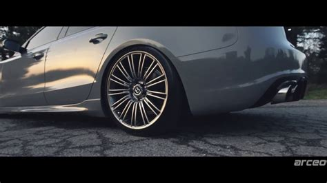 bentley wheels on audi audi a5 sportback quattro arceo bentley continental