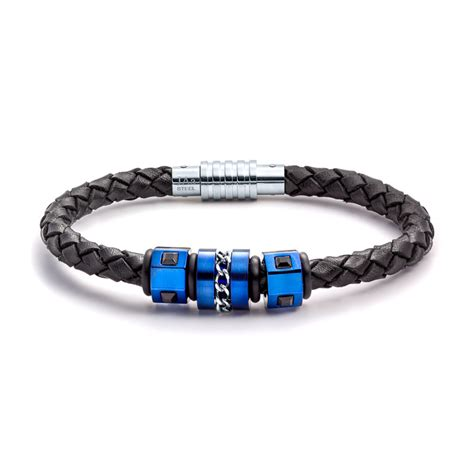 mens bracelets aagaard mens jewelry leather bracelet no 1219 landing