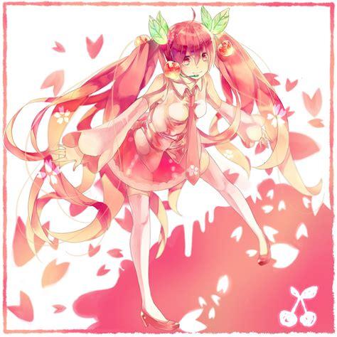 Amio Id Gamis Pink Blossom hatsune miku vocaloid image 1076349 zerochan anime