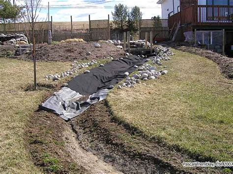 how to build a backyard stream how to build a stream bed how to build a cascading