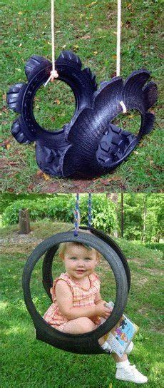 swinging grannies outdoor projects using old tires on pinterest old tires