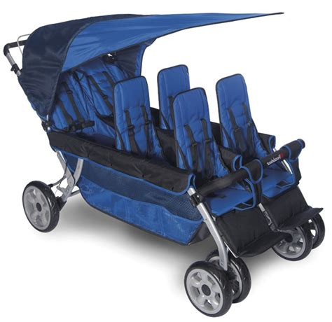 6 passenger strollers for larger families