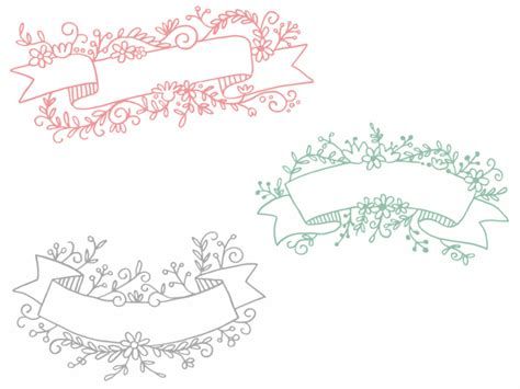 freebie fridays 62 floral header banners the
