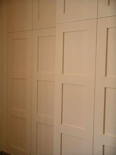 paneled door wardrobe bespoke made by henderson