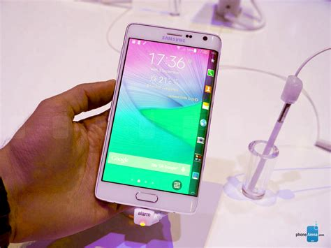 Baterai Samsung Note 4 Edge 1 samsung galaxy note edge on phonearena reviews