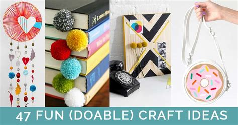 cool craft projects for cool crafts to make at home craft ideas diy craft