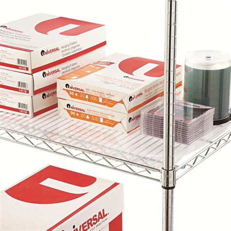 alera 174 shelf liners for wire shelving clear plastic