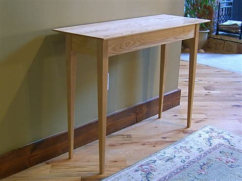 project working entry table plans