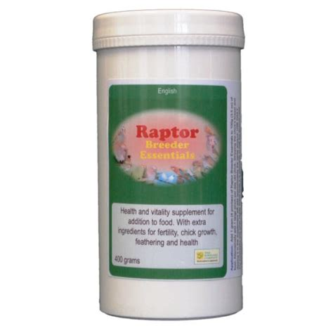 Suplemen Raptor raptor breeder essentials supplement for raptor