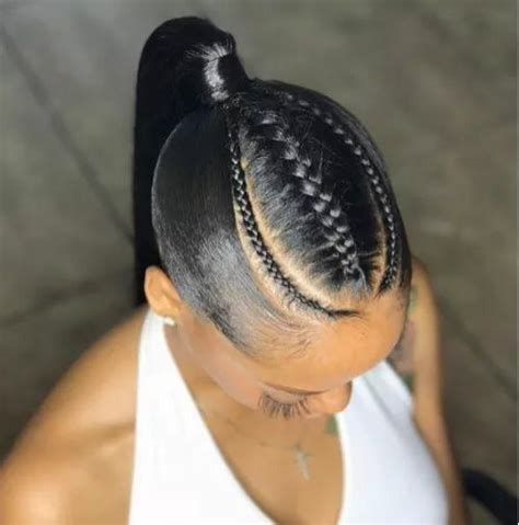 black woman twist hair styles up in pony tails see the hottest cornrow braided updo hairstyles 2018 9gist