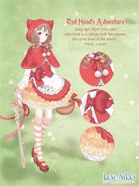 red hoods adventure love nikki dress  queen wiki