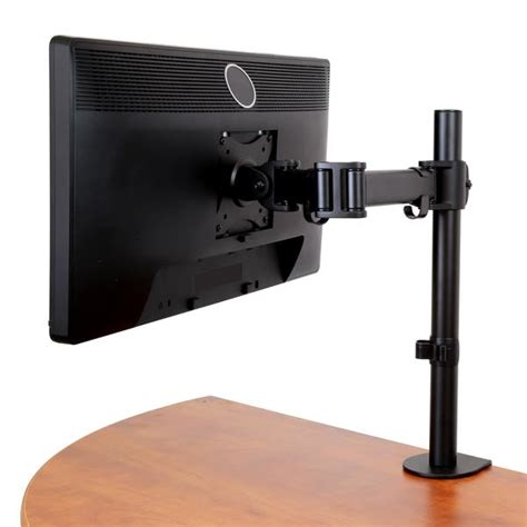flat screen desk mount startech com armpivotb 27 quot cl black flat panel desk mount