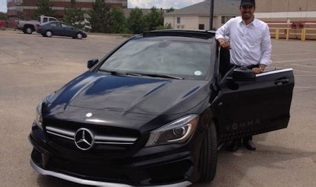 who is the owner of mercedes benzpany how this mercedes cla45 amg owner discovered its secret