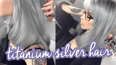 color brilliance titanium silver hair ion titanium results littleteafox