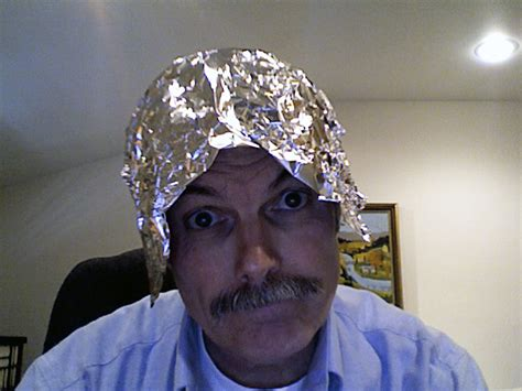 Aluminium Foil Hati obama caign derides liberal as tinfoil hat crowd for promoting romney cheated nonsense