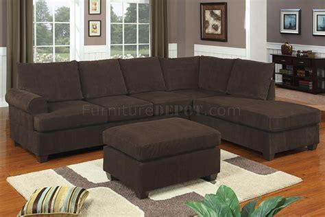 kissenbezüge 80x80 sofa f7135 chocolate corduroy reversible tufted sectional by