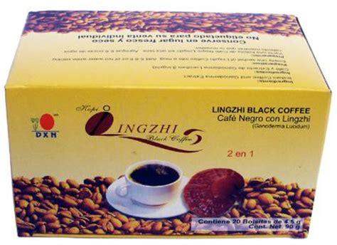 Kopi Lingzhi 4 lingzhi caf 233 negro 2 en 1 para que sirve y como se toma