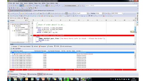 toad tutorial for oracle introduction to toad for oracle for developers in depth